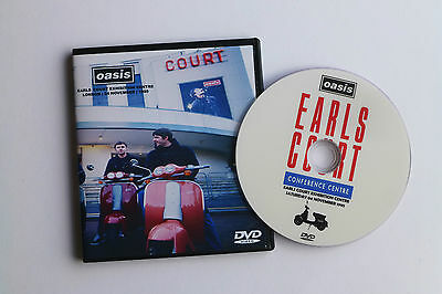 OASIS  LIVE at EARLS COURT NOV 95 (WHAT'S THE STORY) MORNING GLORY TOUR live DVD