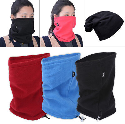 3 in 1 Winter Skiing Running Scarf Hat Neck Warm Face Mask Accessory Windproof