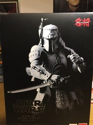SDCC 2017 STAR WARS Ronin Boba Fett Prototype blufin bandai Tamashi nations