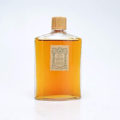 Vintage LEGRAIN Lavande Royale 1943 Perfume Parfum Bottle Full 1940s Paris