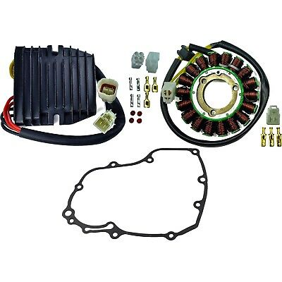 Stator + Regulator Rectifier + Gasket Kit For Suzuki GSX-R 600 2009