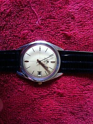 1 Men's Watch Lecoultre 10K Gold Filled( Works Very Good)