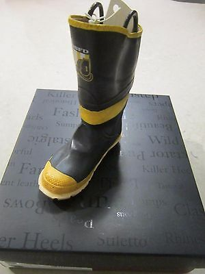 Nib Just The Right Shoe By Raine 2002 Firefighter # 25312 New
