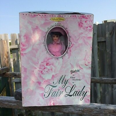 Barbie as Eliza Doolittle in My Fair Lady Pink Hollywood Legends Collection