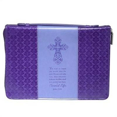 Bible Cover - Lux-Leather - Jo