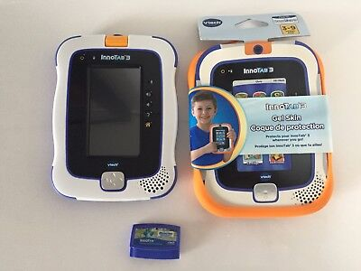 VTech InnoTab 3 with New Gel Case and Disney Monsters University Game