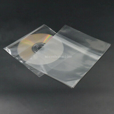 Plastic Resealable Outer Sleeve bag for Japan Mini LP CD LPS CDS