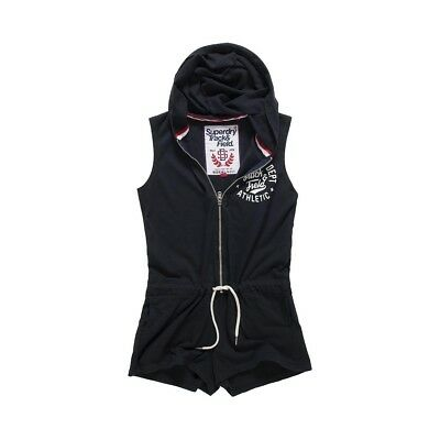 Combishort Superdry Track&field Playsuit Eclipse N