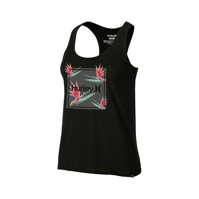Débardeur Hurley One Only Birds Of Paradise Perfect Tank Black