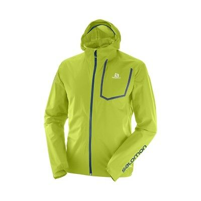 Blouson Salomon Bonatti Pro Wp Lime Green