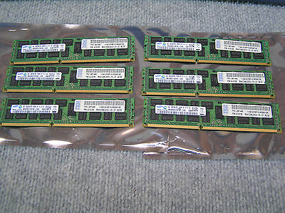 24GB 6x4GB IBM 49Y1445 IBM 4GB 2Rx4 PC3-10600R SERVER RAM 47J0156