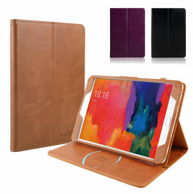 Magnetic Real Genuine Leather Case Card Wallet Cover For iPad Pro 9.7/10.5/12.9