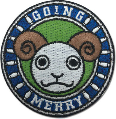 **Legit** One Piece Luffy Going Merry Symbol Logo Iron On Authentic Patch #44271