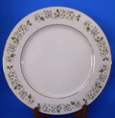 "Vintage W. Dalton Imperial China 12"" Chop Dinner Platter Plate Wildflower 745"