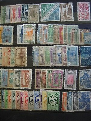 Colonies Francaises Lot Neuf */**