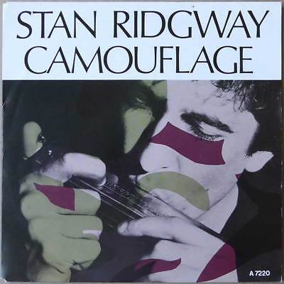 """7"""" Stan Ridgway - Camouflage - Europa 1986 - VG+(+) to VG++"""