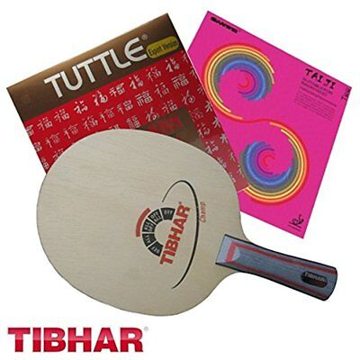 TUTTLE 888 TABLE TENNIS RUBBER EXPORT VERSION Red 2.2 mm Special Yellow Sponge