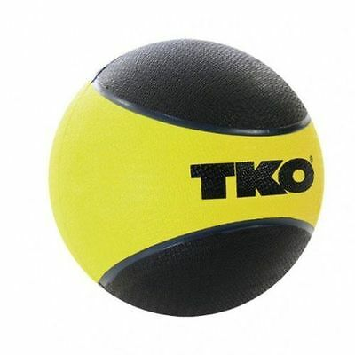 TKO Rubberised Medicine Ball - Yellow 5 Kg