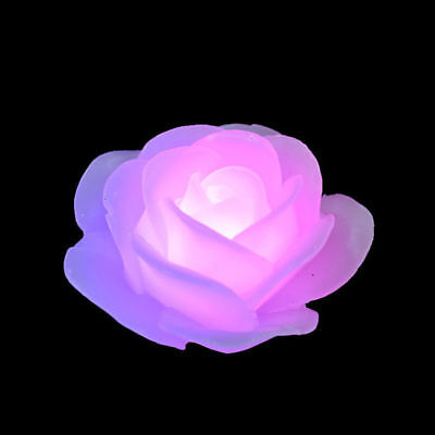 Waterproof LED Flameless Floating Candle Color Changing Home Decor Natural