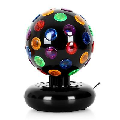 Multi Colour Light Disco Ball Home Lights Effects Rotation Lighting Dj - Black