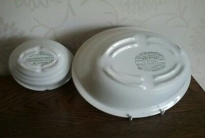 Antique Small size The Grimwade provisional Patent Pudding Bowl Reg No 543415