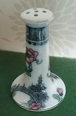 Antique Hat Pin Holder  Losol Pottery Keeling & Co Oriental Design