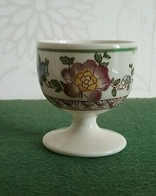 Antique George Jones Crescent Ware Egg Cup Old Swansea Pattern
