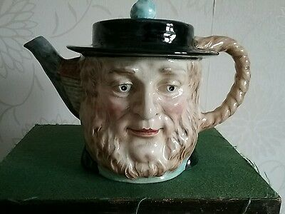 Mr Daniel Peggotty Yarmouth Fisherman Dickens David Copperfield Tea Pot Beswick