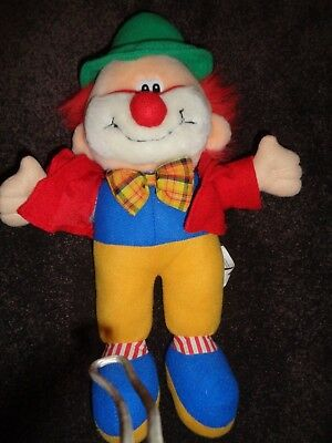 Play By Play Clown Soft Toy