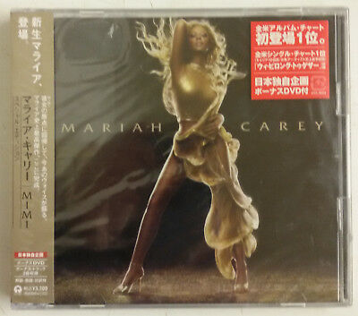 Mariah Carey Emancipation of Mimi CD+DVD Japon UICL9024