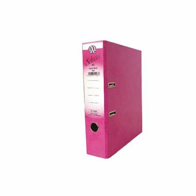Concord A4 File 70mm Pink IXL Lever Arch (Pack of 10) 162242 [JT11097]