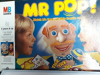 Vintage Mr Pop Game 1993 By Mb Games *100% Complete In Good Condition
