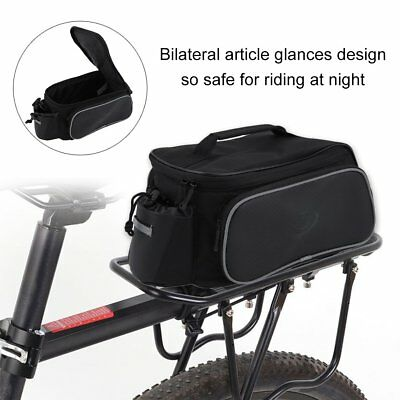 Waterproof Bicycle Pannier Seat Bike Cycling Rear Tail Rack Storage Pouch Bag