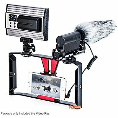 Smartphone Stabilizers Video Rig, Phone Movies Mount Handle Grip Stabilizer, For
