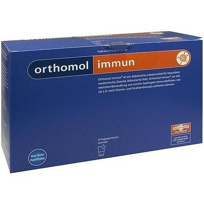 2x ORTHOMOL Immune, 2X 30 Daily Portion = 60 daily portion, Granules