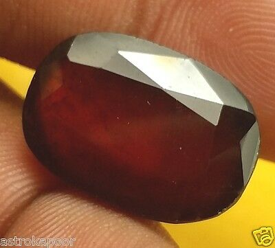 8.52 CT AFRICAN HESSONITE 100% Natural GIE Certified AAA+ BEST Quality Gemstone