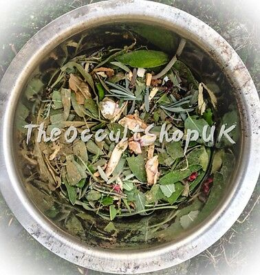 13 Herbal Bath Removes Hex Jinx Black Magic Witchcraft Spell Pagan Wicca 100g
