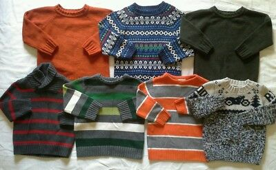 Boys 3T Sweaters Fall Winter clothes lot!