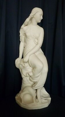 Minton Parian Figure Of Miranda, Designed By John Bell.