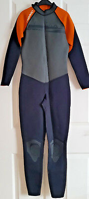 Childrens Full Lenth Tribord  Wetsuit Age 12-14 Years  Chest 29-31 Inches