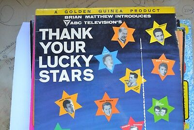 "Brian Matthews Introduces Abc Televisions "" Thank Your Lucky Stars "" Vinyl Lp"