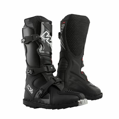 Youth kids Child Motocross Boots Black - MX ENDURO KIDS BOOTS fox Half Price