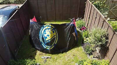 Liquid Force HiFi comp 9m complete with bar and lines kitesurfing kite