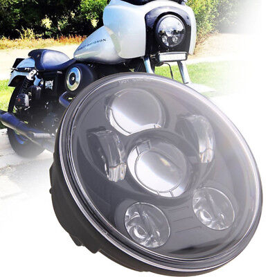 5-3/4 in. LED Headlamp For 2016 Harley Davidson Street 500 XG750 FXDB FXDF Dyna