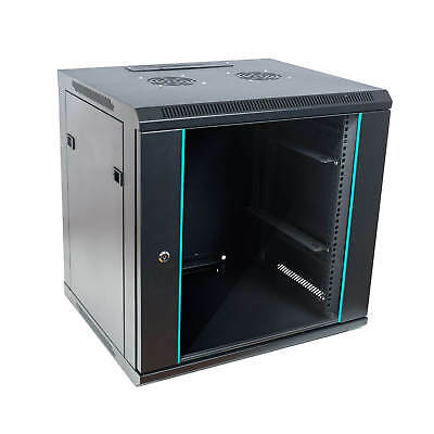 """19"""" Wall-mounted casing Network cabinet Server tower 9HE width x height x depth"""