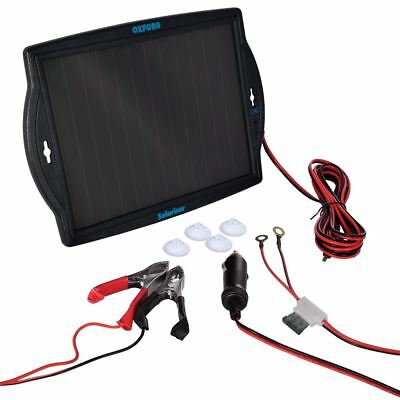 Oxford OF949 Solariser Solar Panel 12 Volt Motor Cycle Battery Charger