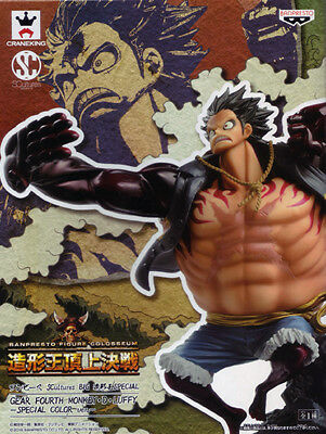 Special Gear Fourth MONKEY D LUFFY Special Color ver ONE PIECE BIG SCulpture