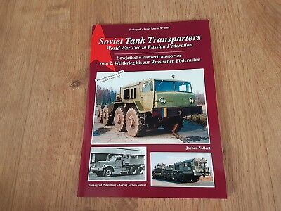 Tankograd Soviet Special: Soviet Tank Transporters, DEUTSCHER & ENGLISH TEXT