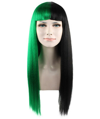 Green & Black Fashion Wig Melanie Martinez Style - HW1082