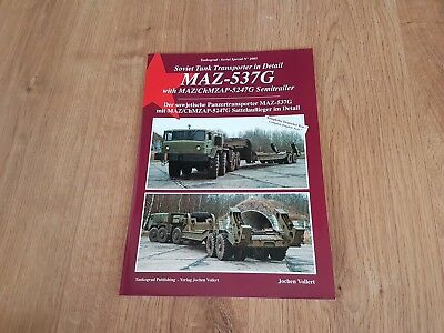 Tankograd Soviet Special: MAZ-537G Transporter, DEUTSCHER & ENGLISH TEXT